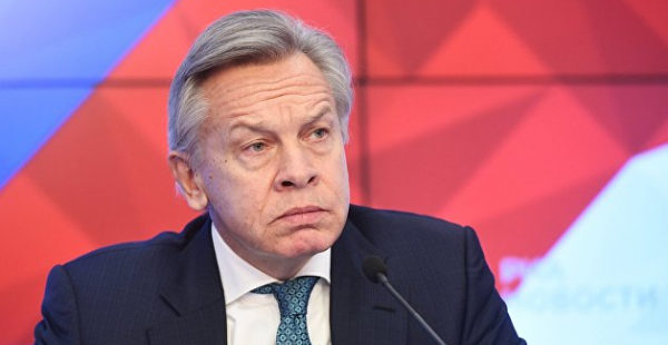 Пушков отреагировал на желание Киева депортировать россиян из Крыма