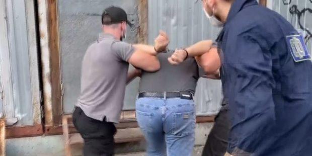 ФСБ опубликовало видео задержания в Москве несостоявшегося террориста