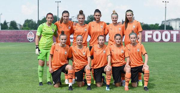 Женская команда «Шахтера» в товарищеском матче разгромила соперниц