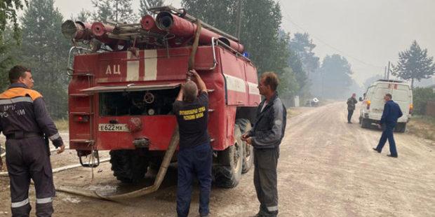 В Карелии отменили решение об эвакуации жителей поселка из-за пожаров