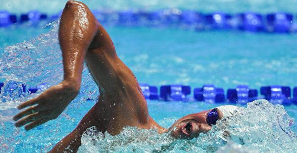Украинский пловец побил олимпийский рекорд