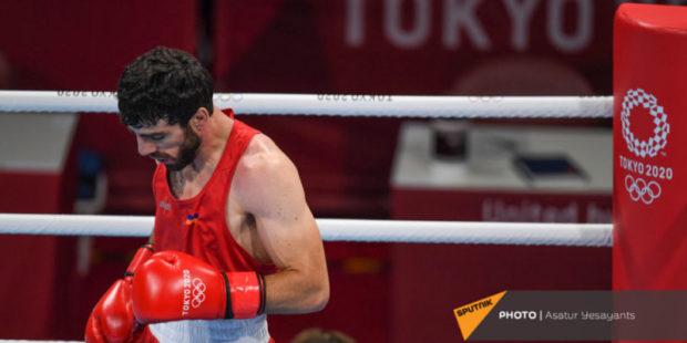 Армянский боксер встретится с азербайджанцем на следующем этапе олимпийского турнира