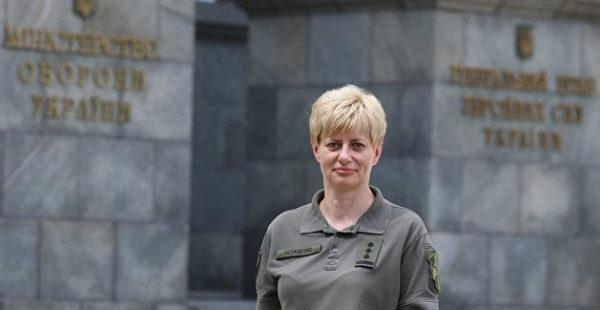 Командование подразделением ВСУ впервые возглавила женщина