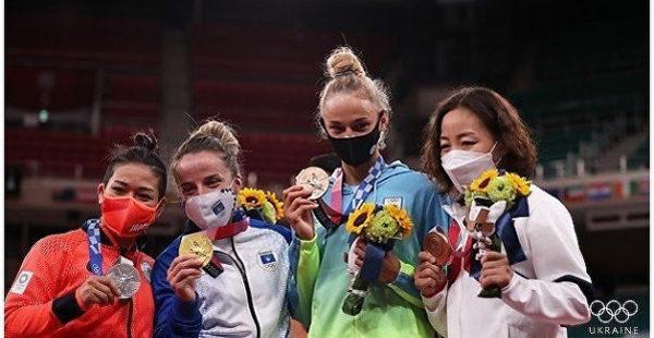 Украинская дзюдоистка добыла первую для страны медаль на Олимпиаде
