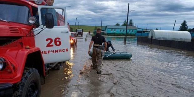В Забайкалье паводок подтопил более 50 домов