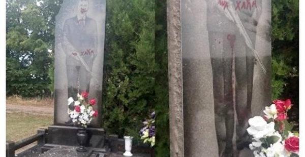 В Харькове подростки устроили погром на кладбище ради видео