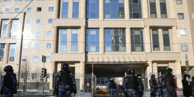 """Двенадцать московских судов получили сообщения о """"минировании"""""""