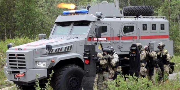 В Мурманской области Росгвардия отработала нейтрализацию террористов