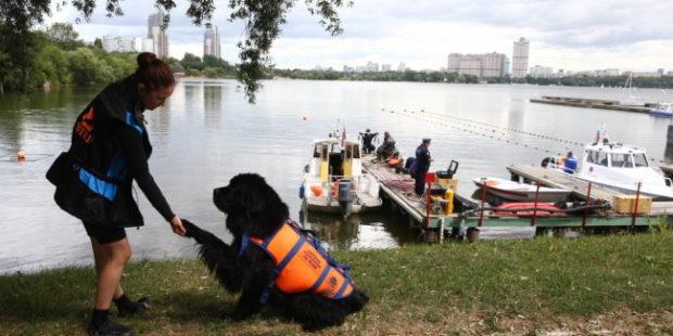 Спасатели патрулируют столичные зоны отдыха