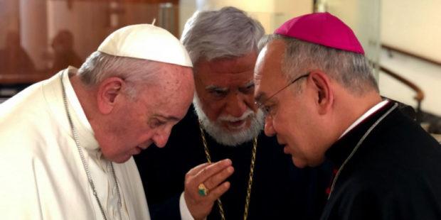Католикос Арам I рассказал в Ватикане о проблемах Ливана