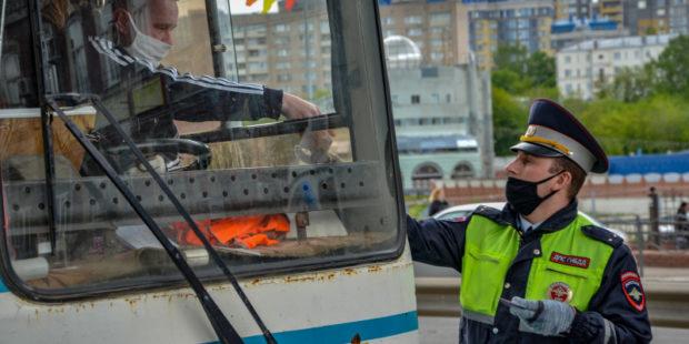 Опештаб ввёл запрет на движение общественного транспорта без соблюдения ковидных норм в Ивановской области