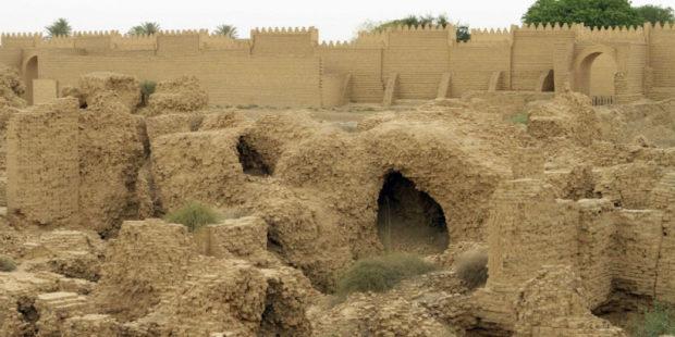 """""""Портрет"""" вавилонского царя Набонида обнаружили археологи в Саудовской Аравии"""