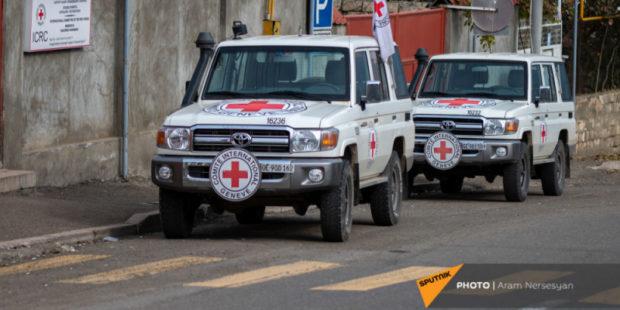 Представители Красного Креста навестили армянских пленных в Азербайджане