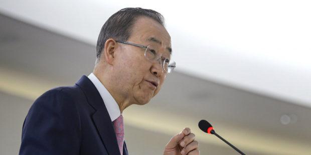 Причиной пандемии коронавируса является глобальное потепление - Пан Ги Мун