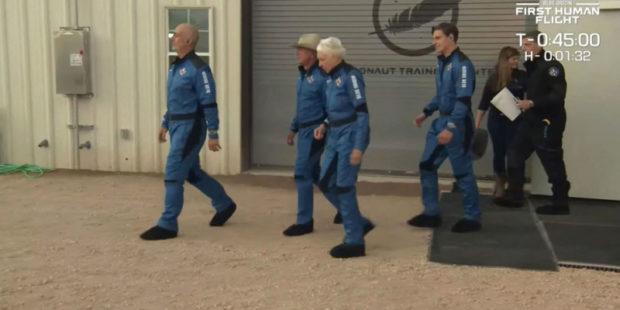 Ракета Джеффа Безоса проведет еще два полета в космос до конца года