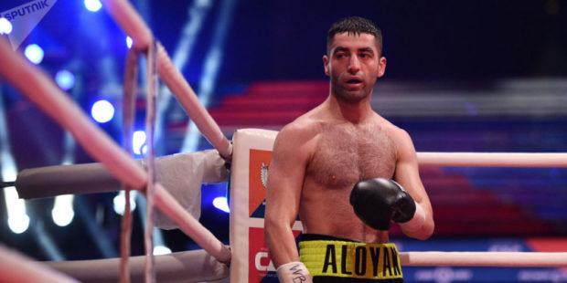 Россиянин Миша Алоян одержал новую победу на профессиональном ринге