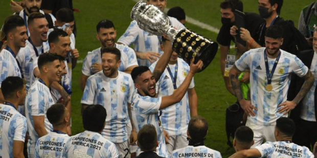 Сборная Аргентины обыграла Бразилию и завоевала Кубок Америки