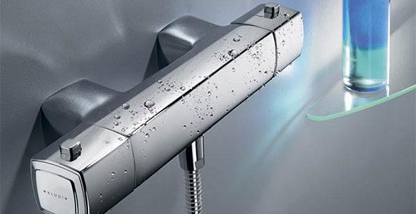 Основные виды термостатических смесителей