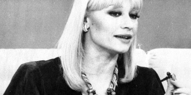 Умерла Рафаэлла Карра, знаменитая некогда ведущая и певица