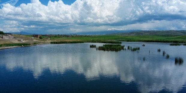 Уровень воды в крупнейших водохранилищах Армении понизился