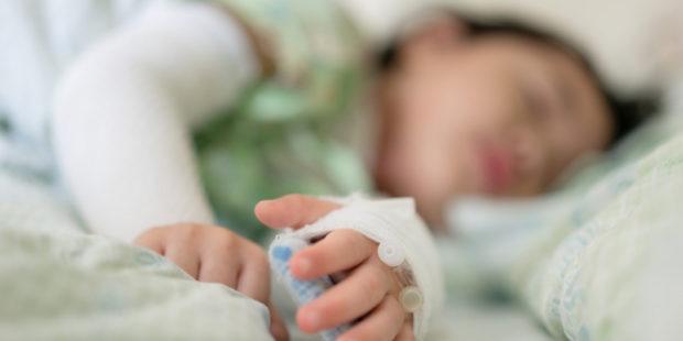 В больницу Иванова экстренно доставили малыша с индийским штаммом коронавируса