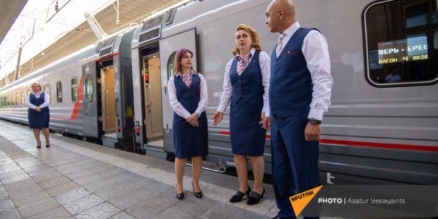 В какие страны бывшего СССР отправляются российские поезда