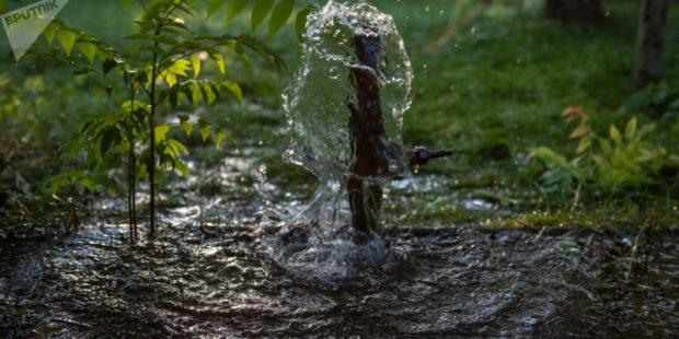 В общине Акунк реконструируют водопровод и канализационную сеть – губернатор Гегаркуника