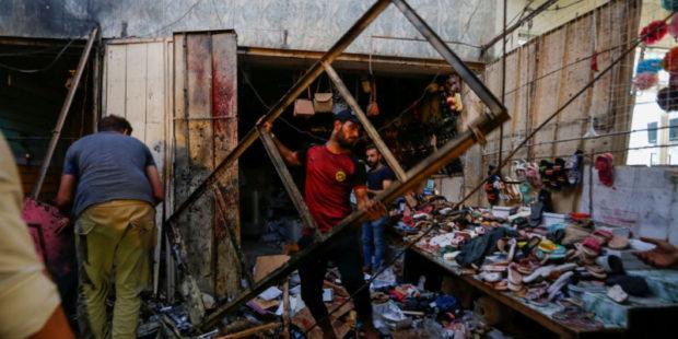 Взрыв прогремел на рынке в Багдаде, есть жертвы - видео
