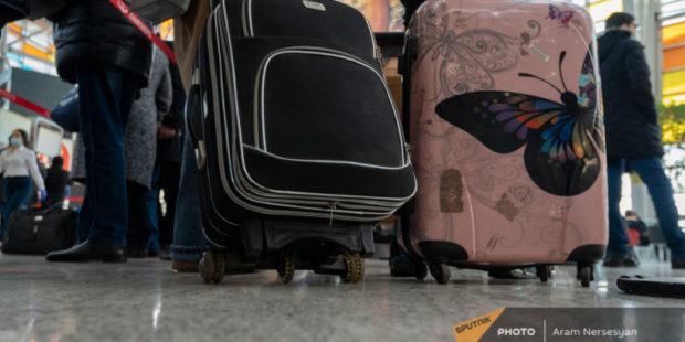 Зафиксирован рост объемов пассажиропотока в Армению во втором квартале года