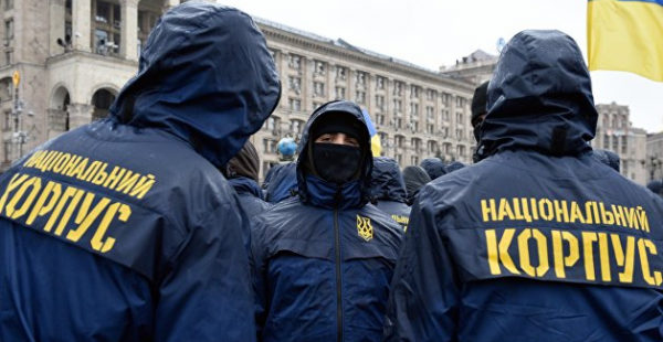 В «Нацкорпусе» заявили, что силовики планируют штурм их базы в Киеве