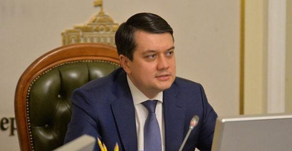 Казус Порошенко: Разумков призвал отказаться от использования зеленки в политической борьбе