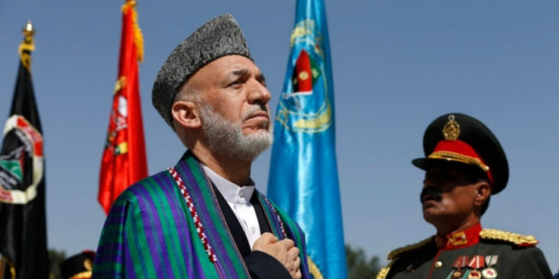 """Талибан"" обезоружил и разогнал охрану Карзая и Абдуллы"