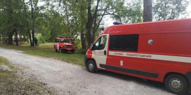 На Среднем Урале из-за пожара эвакуировали санаторий