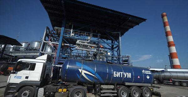 Украина возобновила поставки битума из России