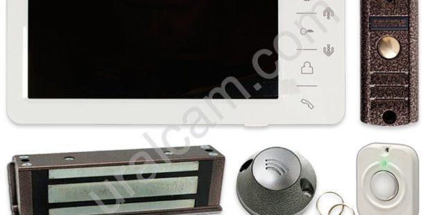 Куда можно установить комплект цветного видеодомофона?