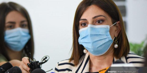 Аванесян представила статистику по количеству заразившихся COVID среди вакцинированных