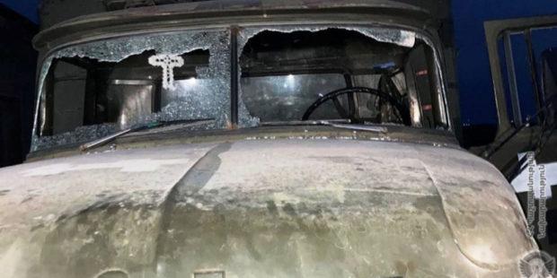Азербайджанские ВС обстреляли армянские позиции в Ерасхе, повреждена машина снабжения
