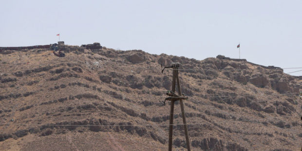 Азербайджанские ВС вновь обстреляли армянские позиции в Ерасхе