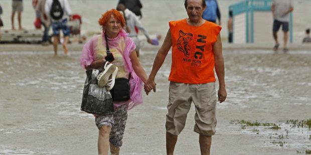 Подтопления на курортах Кубани не напугали туристов