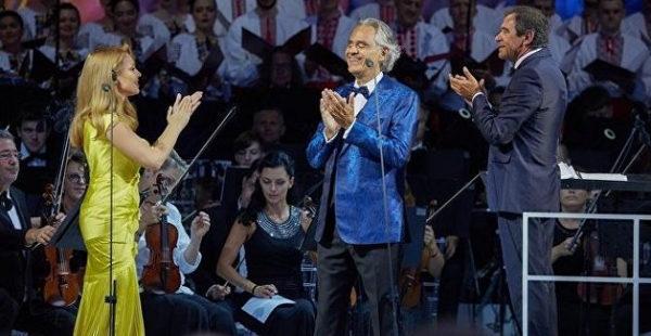 «Бесплатный, но нет»: в Офисе президента прокомментировали скандал из-за концерта Бочелли
