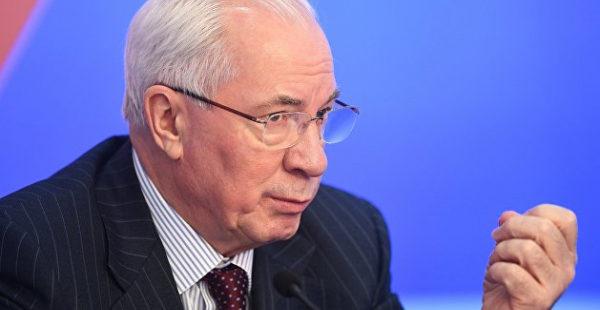Азаров сказал, какую партию срочно нужно создать на Украине