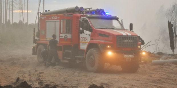 В Сарове объявлен режим ЧС из-за пожара в мордовском заповеднике