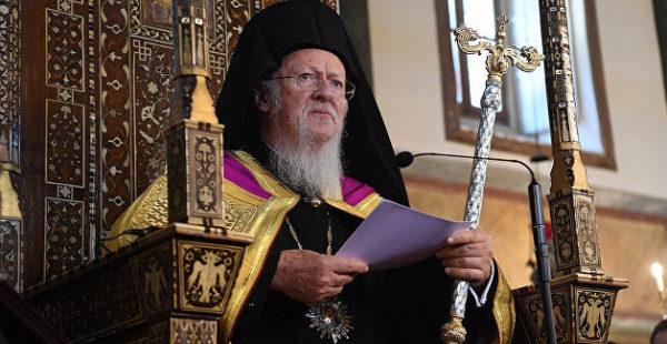 Зеленский обсудил с патриархом Варфоломеем ситуацию в Донбассе