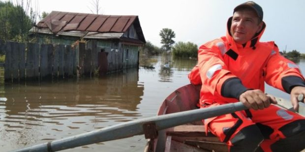Вода в Амуре у Хабаровска поднялась выше опасной отметки