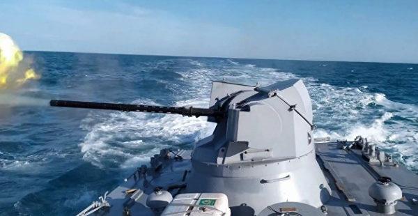 ВМС Украины провели учения на Азовском море