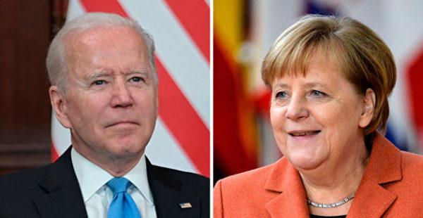 «Его бы встречали с цветами». Эксперт о том, о чем Меркель попросила Байдена насчет Донбасса