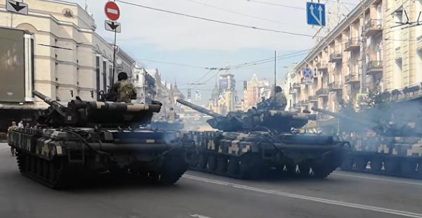 Казак-кабриолет и турецкий беспилотник: в Киеве репетируют парад ко Дню независимости