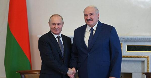 В Кремле назвали дату встречи Путина и Лукашенко
