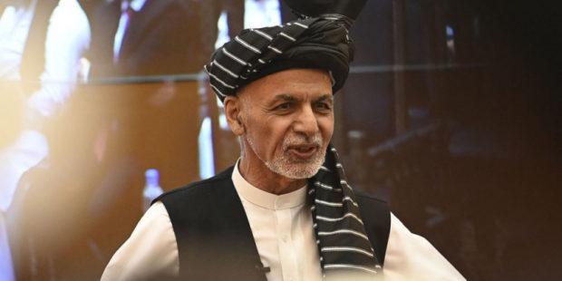 Экс-президент Афганистана Ашраф Гани выступил с обращением