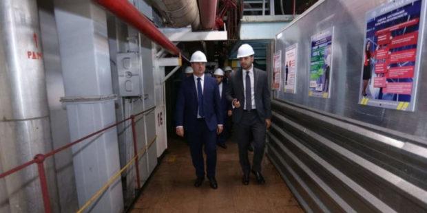 Министр Саносян посетил Армянскую атомную электростанцию